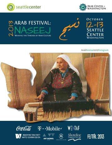 Festival Program - Arab Center of Washington