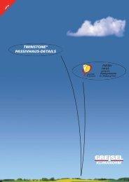 Passivhaus Detailkatalog - GREISEL