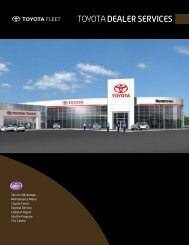 TOYOTADEALER SERVICES - Toyota Canada