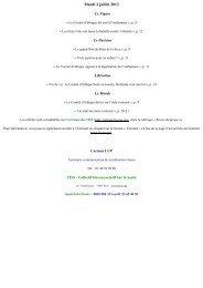 Mardi 2 juillet 2013 - CISS Bretagne