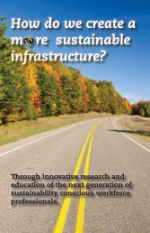 How do we create a m   re sustainable infrastructure? - MiSTI