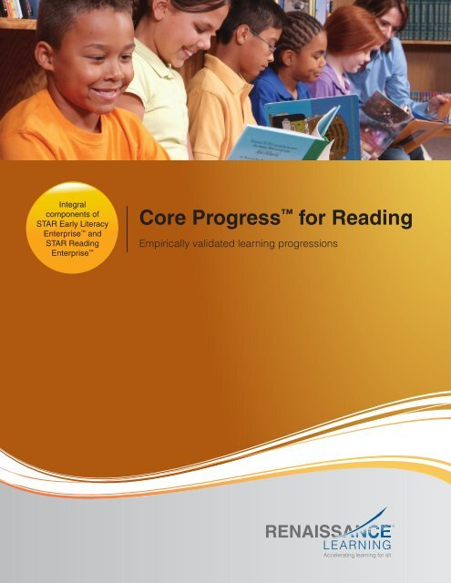 Core Progress™ for Reading - Renaissance Learning