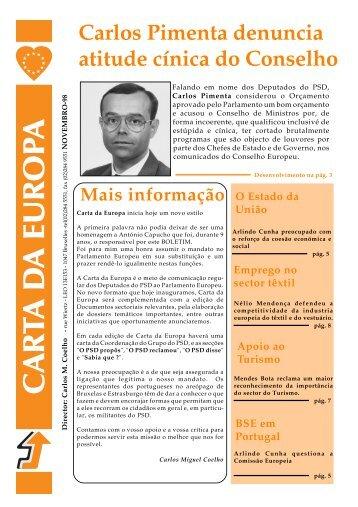 Novembro - Carlos Coelho