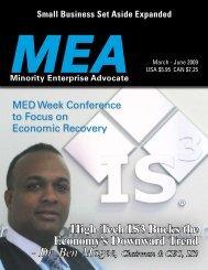 High-Tech IS3 Bucks the Economy's Downward Trend - Minority ...