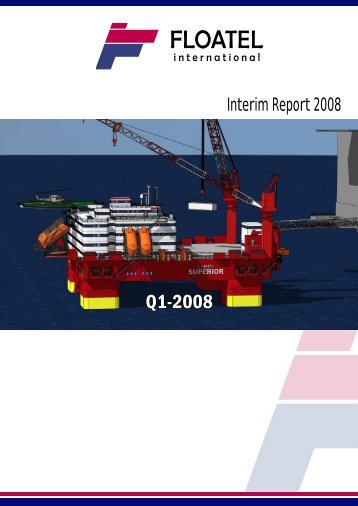 Q1-2008 - Floatel International