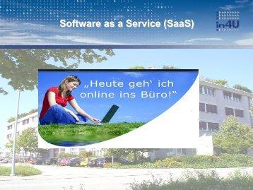 SaaS Zukunft - SwissICT