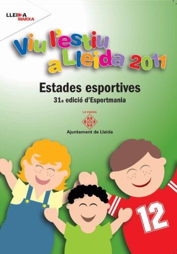 da r un /a i dur t. - Ajuntament de Lleida