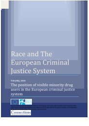 Ethnicity, drugs, HIV and prisons in Europe - Offender Health ...