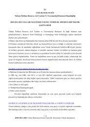 2010-2011-2012 Yılları Malzemeli Genel Temizlik  Hizmetleri Teknik ...