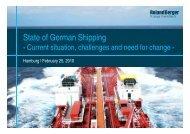 State of German shipping (PDF, 710 KB) - Roland Berger