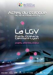 La Ligne à Grande Vitesse Paris-Orléans-Clermont-Lyon - Apur