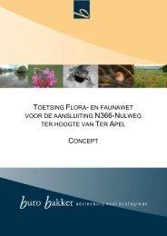 Bijlage 5 Ecologisch veldonderzoek Nulweg