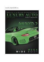 Luxury Auto, Ausgabe April/Mai 2010