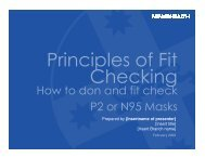 How to don and fit check P2 or N95 Masks - NSW Health