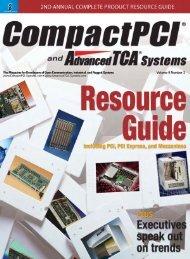 ComapctPCI and AdvancedTCA Systems - OpenSystems Media