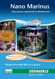 Dennerle Nano Marinus Meerwasseraquarium ... - ZooRoyal GmbH