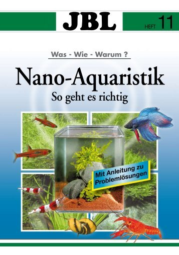 Das Nano-Aquarium - ZOO Buskohl