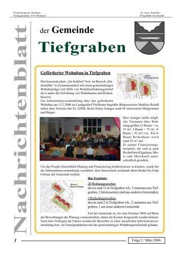 Folge 2 - März 2006 - Tiefgraben