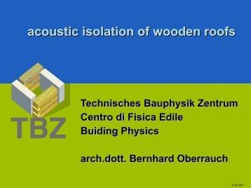 presentazione pdf - Arch.Dr. Bernhard Oberrauch