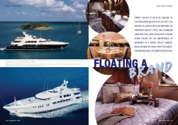 trinity yachts is an elite builder of custom super yachts up