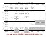 Pool Schedule December 12-18, 2011 - City of Humboldt