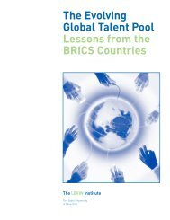 The Evolving Global Talent Pool Lessons from the BRICS Countries