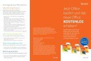 Jetzt Office kaufen und  das neue Office KOSTENLOS erhalten!*