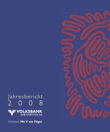 Jahresbericht - Volksbank