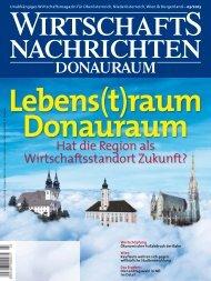Ausgabe 03/2013 Wirtschaftsnachrichten Donauraum