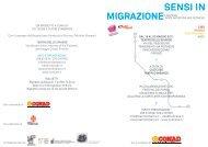 Scarica Programma Sensi in migrazione