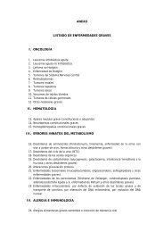 ANEXO LISTADO DE ENFERMEDADES GRAVES I ... - Amat