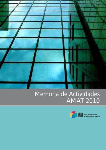 Memoria de Actividades AMAT 2010