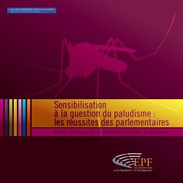 Sensibilisation à la question du paludisme : les réussites des ... - EPF