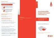 Ceník Fix2014 KVĚTEN dodávky zemního plynu E.ON Energie, a.s.
