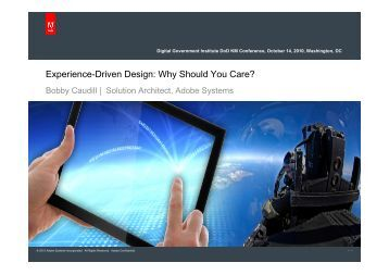 Experience-Driven Design: Why Should You Care? - Digital ...