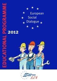 EDUC ATIO NAL P R O G R AMME 2012 - EZA