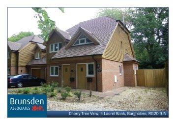 Cherry Tree View, 4 Laurel Bank, Burghclere, RG20 9JN - Brunsden ...