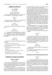 1103 ASSEMBLEIA DA REPÚBLICA PRESIDÊNCIA DO ... - DGArtes
