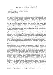 ¿Sobran universidades en España? - Universidad de Málaga
