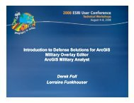 Introduction to Defense Solutions for ArcGIS Military Overlay Editor ...