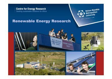 Renewable Energy Research - Innovationeasterncape.co.za