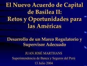 El Nuevo Acuerdo de Capital de Basilea II: Retos y Oportunidades ...