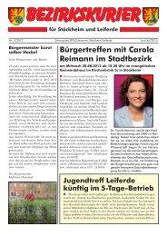 Bezirkskurier Stöckheim/Leiferde Ausgabe 2013-2 - Klaus-Peter ...