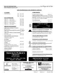 Volume 4 Numéro 11 Décembre 2006 - Ville de Donnacona