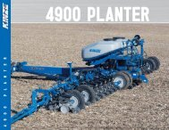 4900 PLANTER - KINZE Manufacturing, Inc.