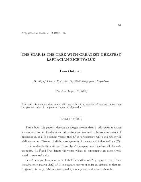 The star is the tree with greatest greatest Laplacian eigenvalue