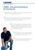 Karriere bei LESER - Page 6