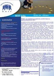 Numéro 194 – 15/05/2013 - La Représentation des Institutions ...