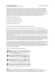 """""""Erfreue dich, Himmel"""" - Didaktische Analyse von Musik"""