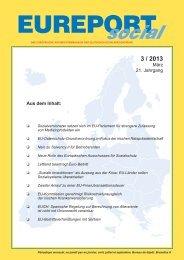 EUREPORTsocial, Ausgabe 3/2013 - Deutsche Sozialversicherung